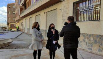 Termina la primera fase del plan de empleo RECUAL en la calle José Ruiz Ruiz