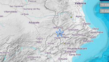 Se han producido tres terremotos de 2,0 grados de intensidad en Caudete sobre las 8 de la mañana