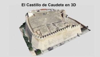 Un trabajo de modelado permite visualizar el Castillo de Caudete en 3D