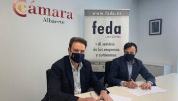 FEDA y la Cámara de Comercio de Albacete firman un convenio para promover el desarrollo empresarial