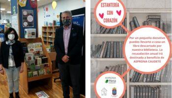 'Estantería con Corazón' llevará la solidaridad de los caudetanos a Asprona
