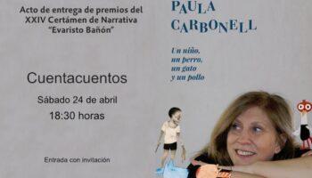 Hoy se entregan los premios del XXIV Certamen de Narrativa 'Evaristo Bañón'