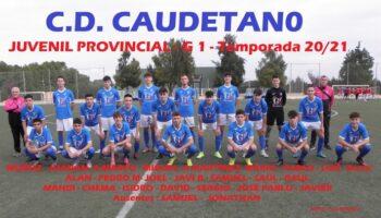El C.D. Caudetano Juvenil ganó 3-2 al Llanos del Águila