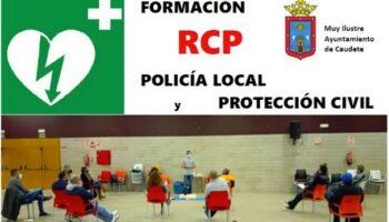 Policías Locales y voluntarios de Protección Civil de Caudete se forman en RCP-DESA