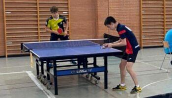 Juan Manuel Bordallo se clasifica primero de grupo en el primer top autonómico escolar de tenis de mesa entre los mejores 16 jugadores de la Comunidad Valenciana
