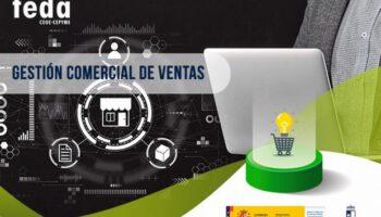 FEDA Caudete organiza un curso de Gestión Comercial de Ventas