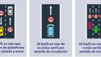La Policía Local de Caudete recuerda que ayer entraron en vigor los nuevos límites de velocidad en vías urbanas