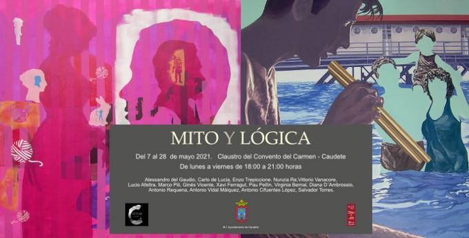 'Mito y Lógica', una exposición de pintura en el Convento San José de Caudete