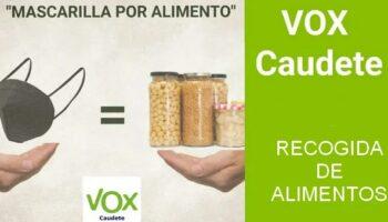 Cáritas será la encargada de repartir los alimentos recogidos por Vox entre los más necesitados
