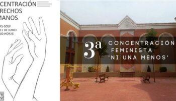 Dos concentraciones para mañana en Caudete: una por los Derechos Humanos y otra de condena por las mujeres asesinadas este año