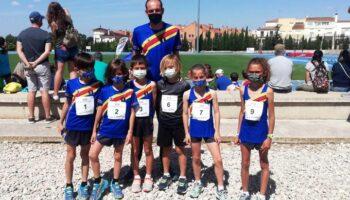 Cuatro medallas para los representantes de las EDM de Atletismo de Caudete en el Provincial Escolar