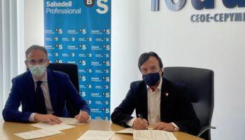 FEDA renueva el acuerdo de colaboración con Banco Sabadell con condiciones preferentes para las empresas asociadas