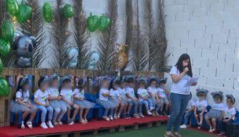 'Los Peques' realizaron el viernes su tradicional Summer Festival