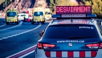 Detenido el camionero que causó la muerte de una mujer de Caudete y otros ocho heridos
