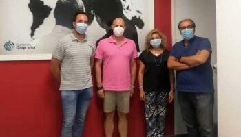 Representantes de la Junta visitaron las instalaciones de Fundación Diagrama en Caudete