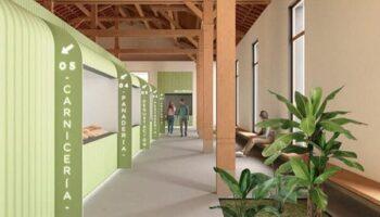 El Mercado de Abastos de Caudete se transformará en un edificio moderno y luminoso, aunque mantendrá su esencia arquitectónica