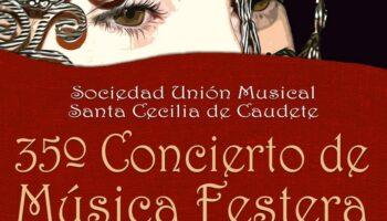 La Sociedad Unión Musical 'Santa Cecilia' ofrecerá el viernes un Concierto de Música Festera en la Plaza de Toros