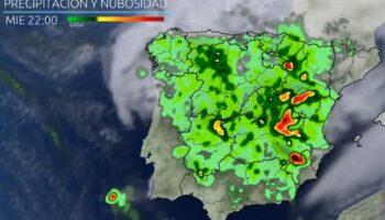 Castilla-La Mancha se prepara para la llegada mañana de una DANA con tormentas, granizo y fuertes vientos