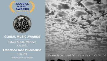 El compositor de Caudete Francisco José Villaescusa gana la Medalla de Plata en los Global Music Awards