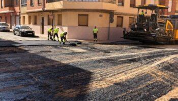 240.000 euros para asfaltar casi 30 calles de Caudete