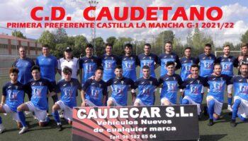 El C.D. Caudetano presentó plantilla y patrocinador oficial, y empató a cero con el Almodóvar