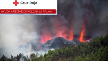 Cruz Roja Caudete informa sobre cómo ayudar a los afectados por el volcán de La Palma