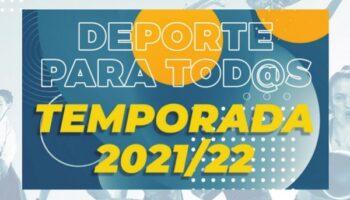 La Concejalía de Deportes de Caudete presenta su oferta deportiva para la temporada 2021/2022