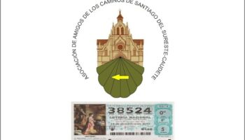 La Asociación de Amigos de los Caminos de Santiago del Sureste de Caudete jugará al 38.524 en la Lotería de Navidad