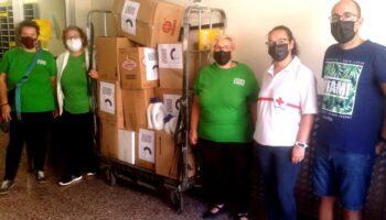 La Plataforma del Voluntariado y Caudete Se Mueve realizan un envío con donaciones a los damnificados por el volcán de La Palma