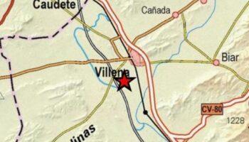 Villena ha registrado la pasada noche un terremoto de 2,3 grados