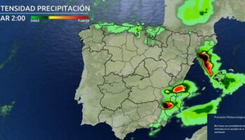 La semana estará marcada por las lluvias y las tormentas en Caudete