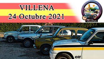 El próximo domingo se va a celebrar en Villena una Concentración de Vehículos Clásicos