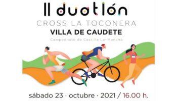 El próximo sábado se celebra el II Duatlón Cross La Toconera – Villa de Caudete
