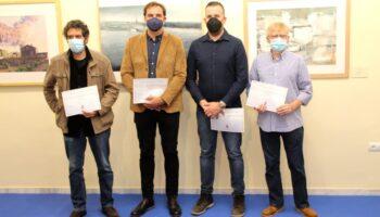 El pasado sábado se entregaron los premios del XVI Certamen Nacional de Acuarela 'Villa de Caudete'