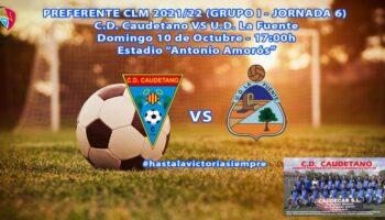 El próximo sábado será la presentación del C.D. Caudetano Juvenil y el domingo el C.D. Caudetano se enfrentará al U.D. La Fuente