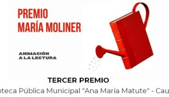 La Biblioteca Pública Municipal de Caudete obtiene la tercera posición en los Premios María Moliner 2021