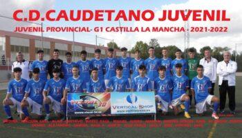 El C.D. Caudetano ganó 2-0 al U.D. La Fuente y el Juvenil goleó con un 6-0 al E.F.B. Botella de Albacete