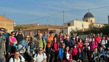 Un total de 40 senderistas participaron en la propuesta caudetana de las VII Rutas de Senderismo de la Provincia de Albacete 2021